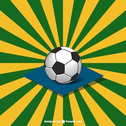 Vector soccer World Cup design
