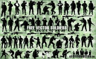 vector soldiers