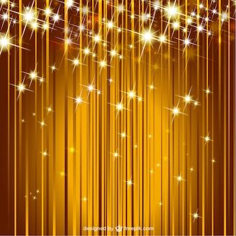 Vector sparkle golden background