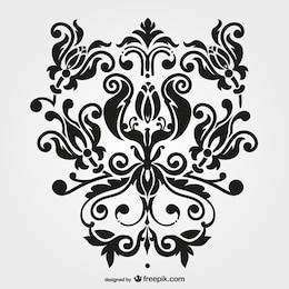Vector swirl graphic free