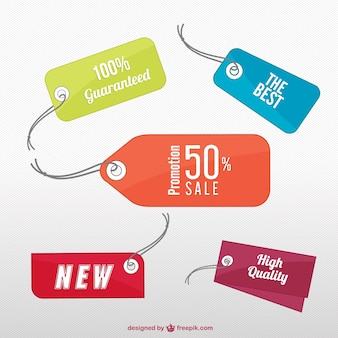 Vector tags collection