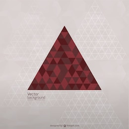 Vector triangle template free