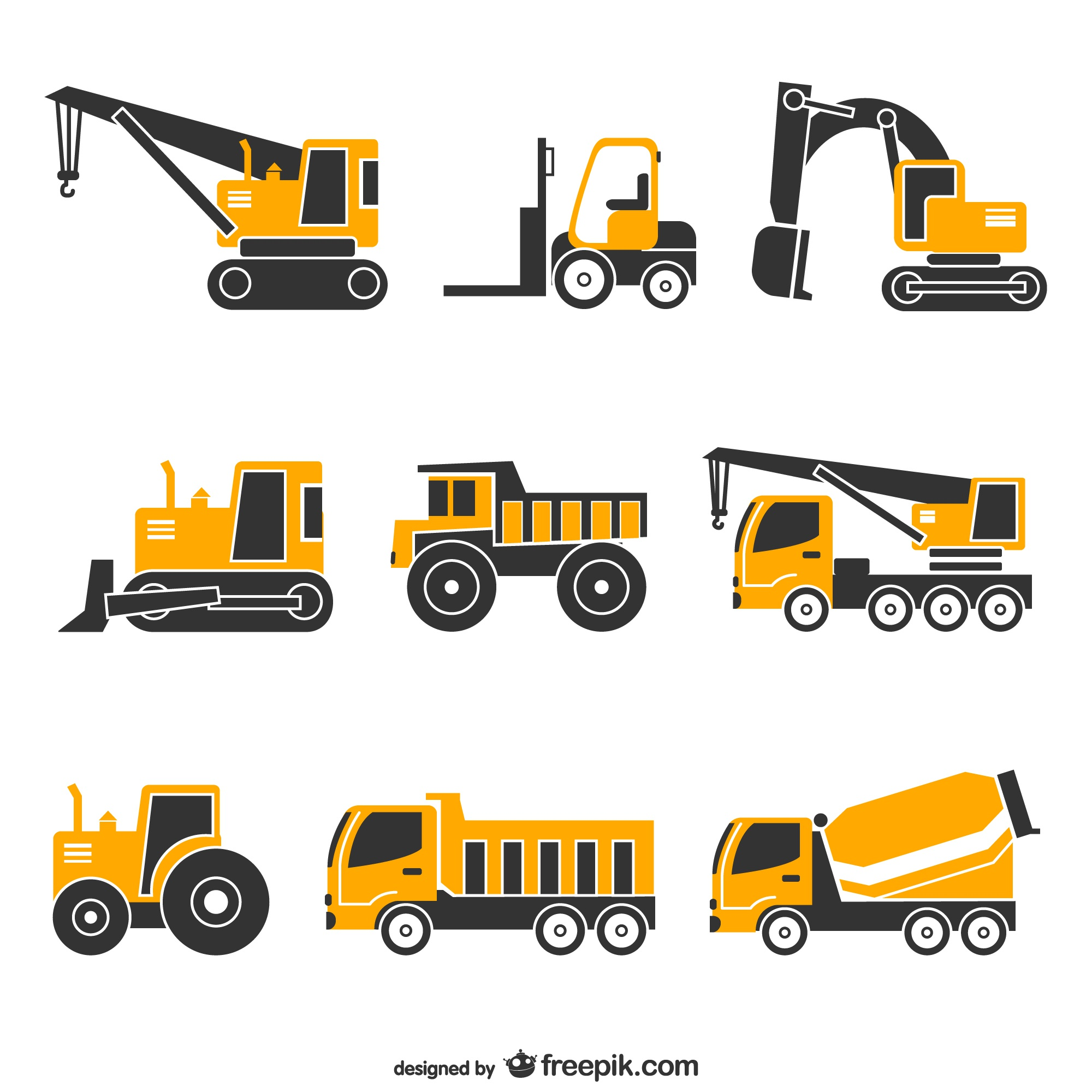 Vector vehicles free set