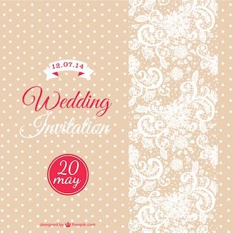 Vector wedding card template