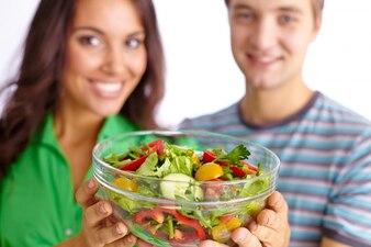 Vegetarian offering veg people nutrition