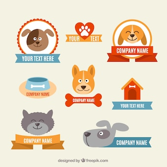 Veterinary badges