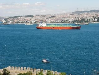 View from the Bosphorus, view