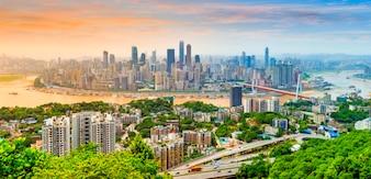 View landmark asian sky reflection