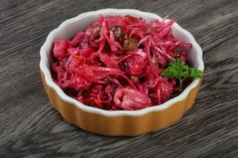 Винагреттский русский салат