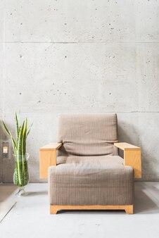 ヴィンテージ椅子豪華な花瓶壁