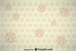 Vintage Flower Background Design