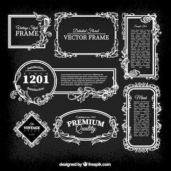 Vintage frames pack