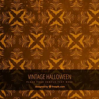 Vintage halloween background