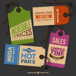Vintage hang tags free for download