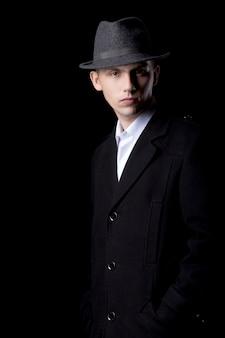 Vintage man fashion