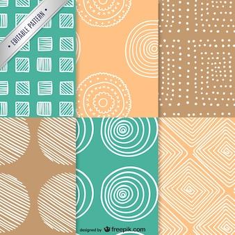 Vintage patterns pack