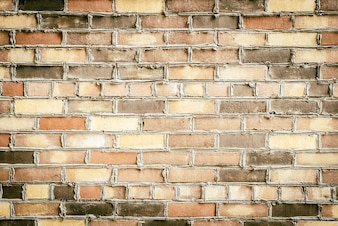 Vintage rough plaster pattern brick