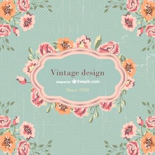Vintage template design