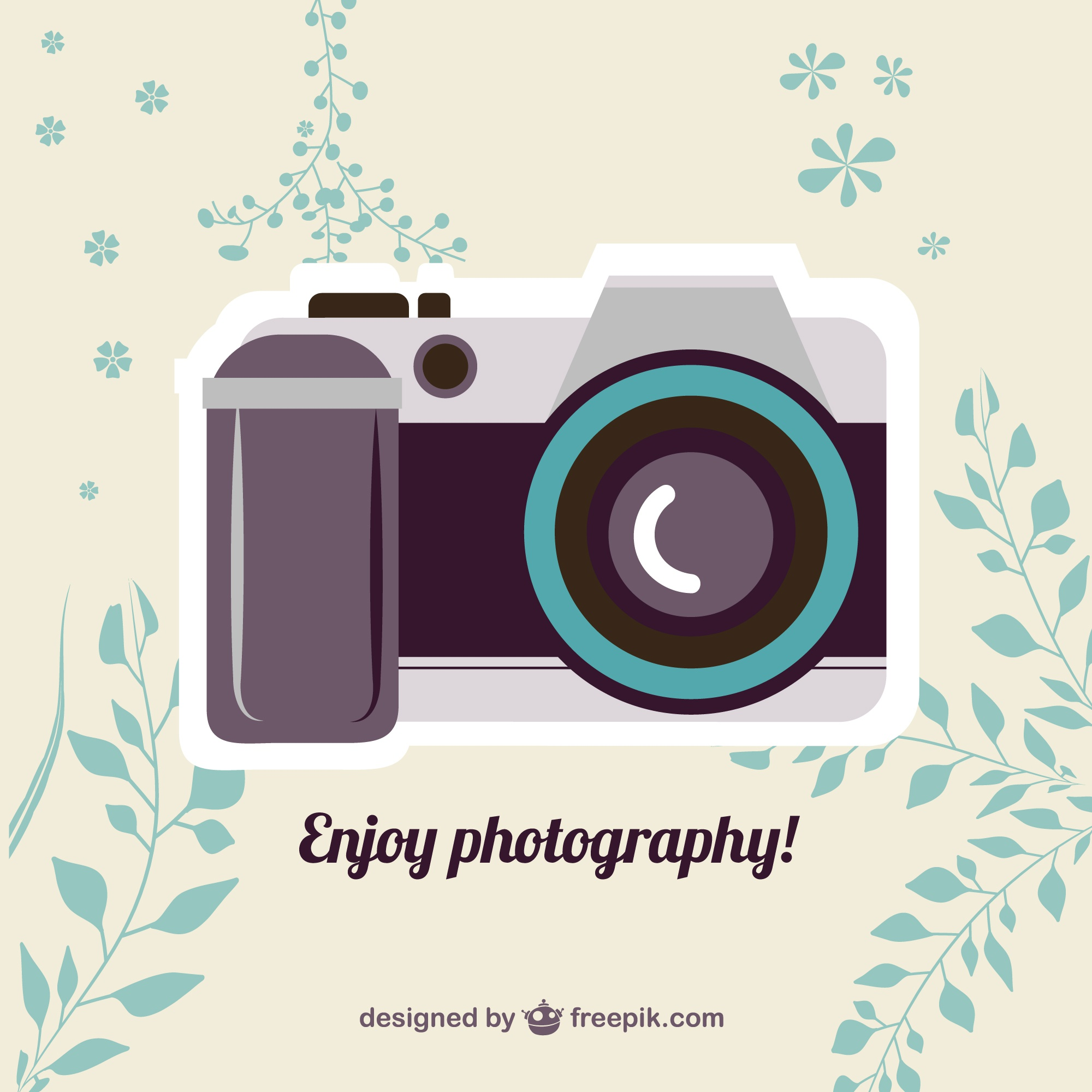 Vintage vector camera free download