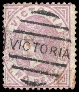 violet queen victoria stamp  resource