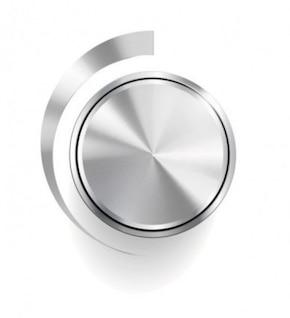 volume knob sound equipment vector