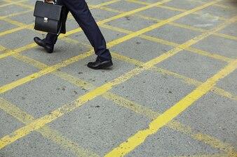 Walking businesspeople career person adult