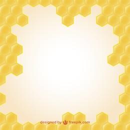 Wallpaper of honey illustration