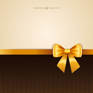Wallpaper with yellow ribbon