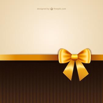 Wallpaper with yellow ribbon
