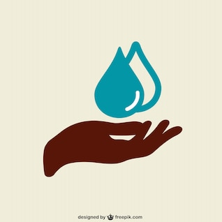 Washing hands vector