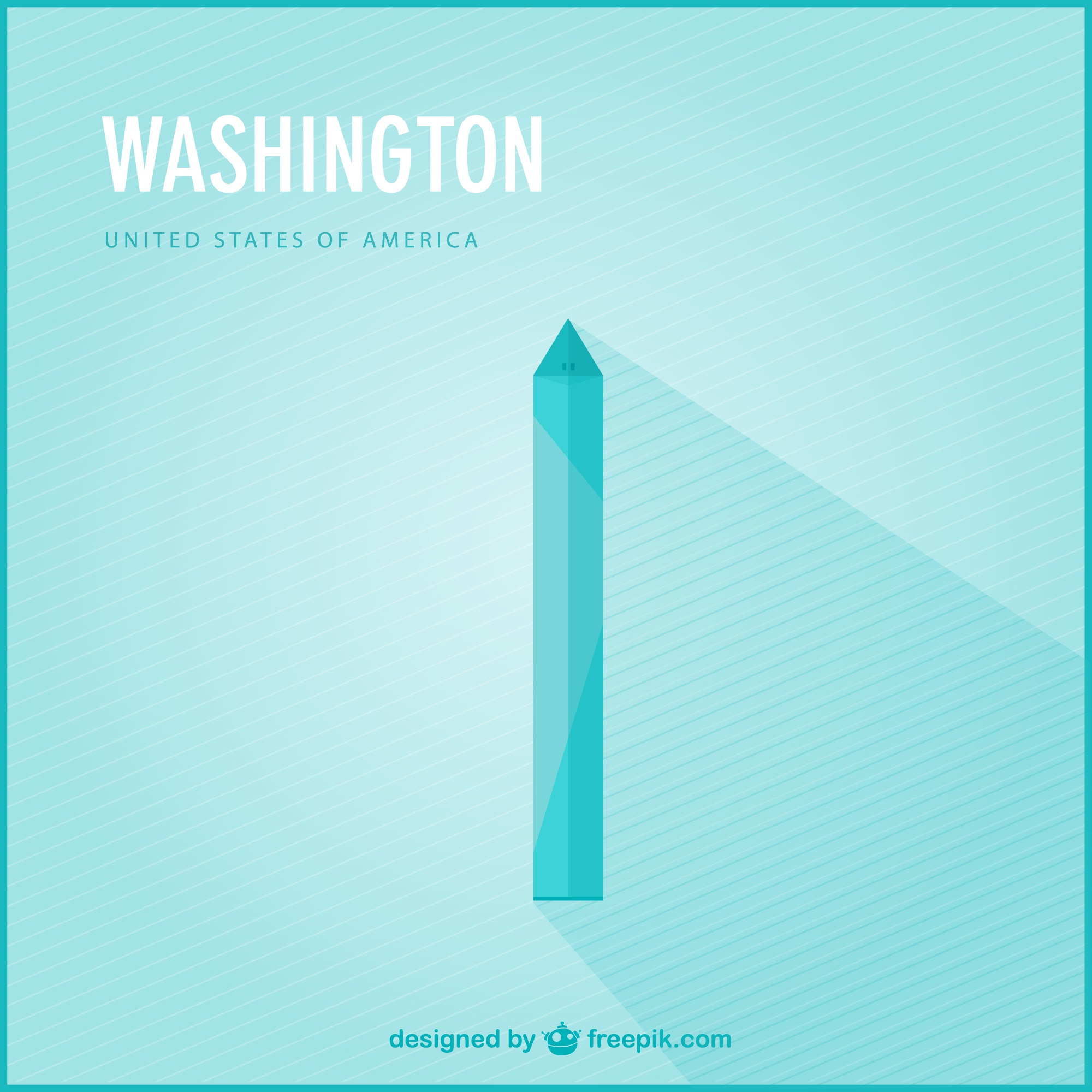 Washington vector landmark