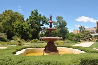 water fountain  garden