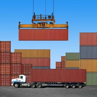 Water road metal sky cargo ship
