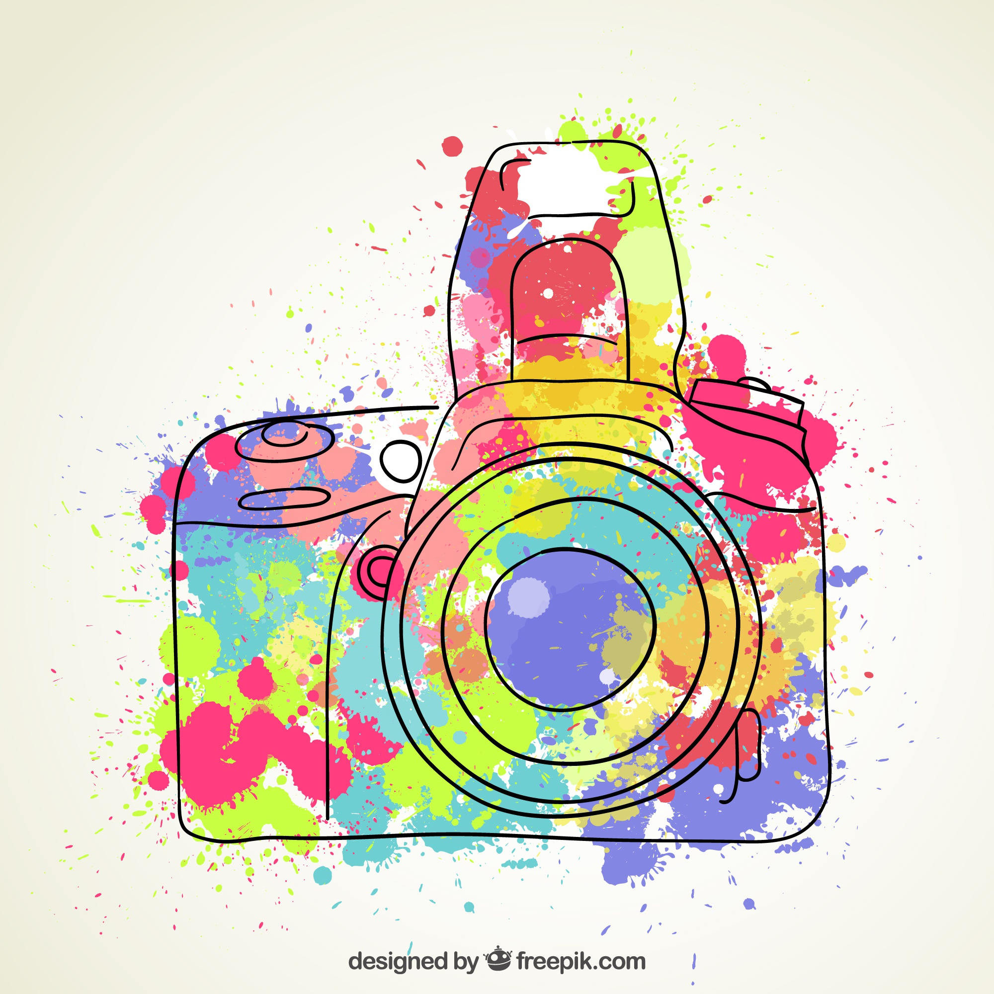 Watercolor camera