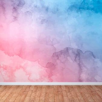 Watercolor wall