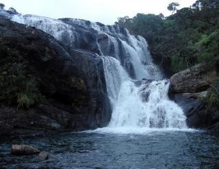 Waterfall in Sri lanka, speed