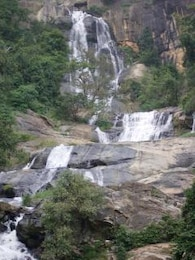 Waterfalls in Sri Lanka