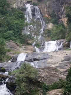Waterfalls in Sri Lanka