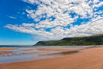 Waterfoot beach   hdr