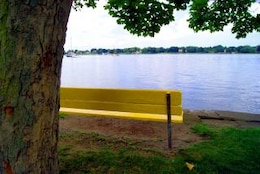 Waterfront Bench