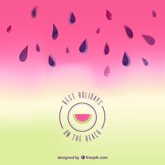 Watermelon background for summer