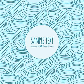 Waves sketch template
