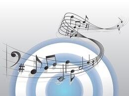 wavy sheet music