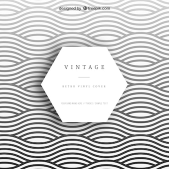 Wavy vinyl cover