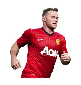 Wayne rooney   man utd premier league