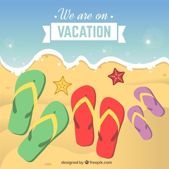 We are on vacation