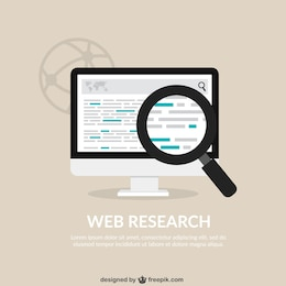 Web research background