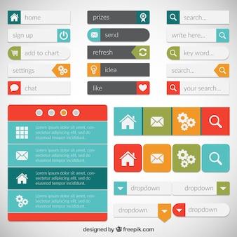 Webpage elements