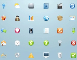 website commonly used icon