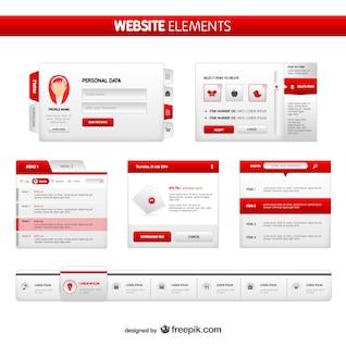 Website elements pack